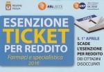 logo esenzione ticket 2016
