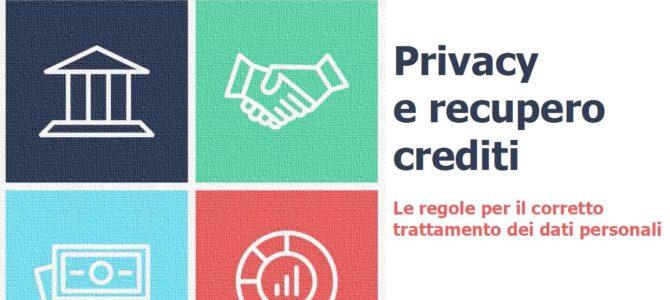 Recupero crediti e tutela della privacy. Il Vademecum del Garante. Segnala ad Adiconsum i comportamenti scorretti