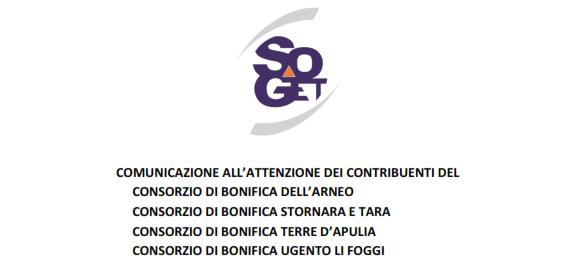Consorzi di Bonifica. SOGET sospende fino al 27 novembre 2016 l'esecutorietà delle ingiunzioni. Adiconsum deposita i primi ricorsi.