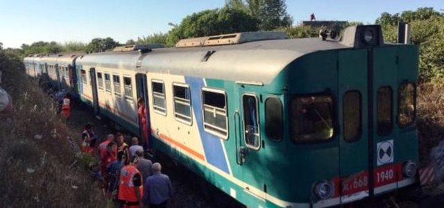 Ferrovie Sud Est. Incidente ferroviario nei pressi di Galugnano. Basta parole, promesse e attese. Agire sulla sicurezza