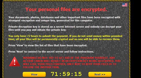 Attenzione al VIRUS informatico CryptoLocker