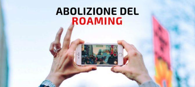Telefonia. Confermata l'abolizione del roaming dal 15 giugno 2017