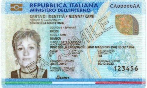 La ricevuta della Carta di Identità Elettronica è documento di riconoscimento