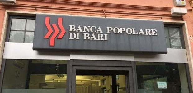 Banca Popolare di Bari: le Associazioni dei consumatori scrivono al Ministero dell'Economia, Banca d'Italia e Consob