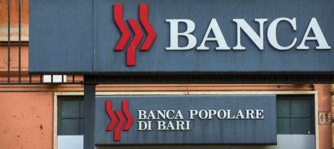 Appello di Adiconsum agli azionisti/obbligazionisti: presentate con urgenza la richiesta di risarcimento danni alla Banca Popolare di Bari