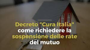 Mutuo casa: è possibile sospendere il pagamento delle rate per 6, 12 o 18 mesi. Come fare